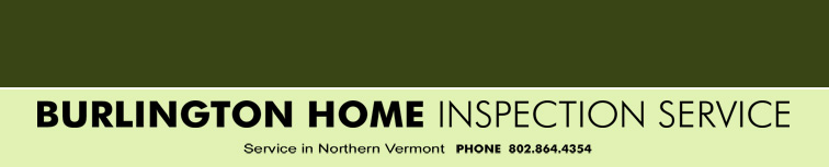 Burlington Home Inspection Service